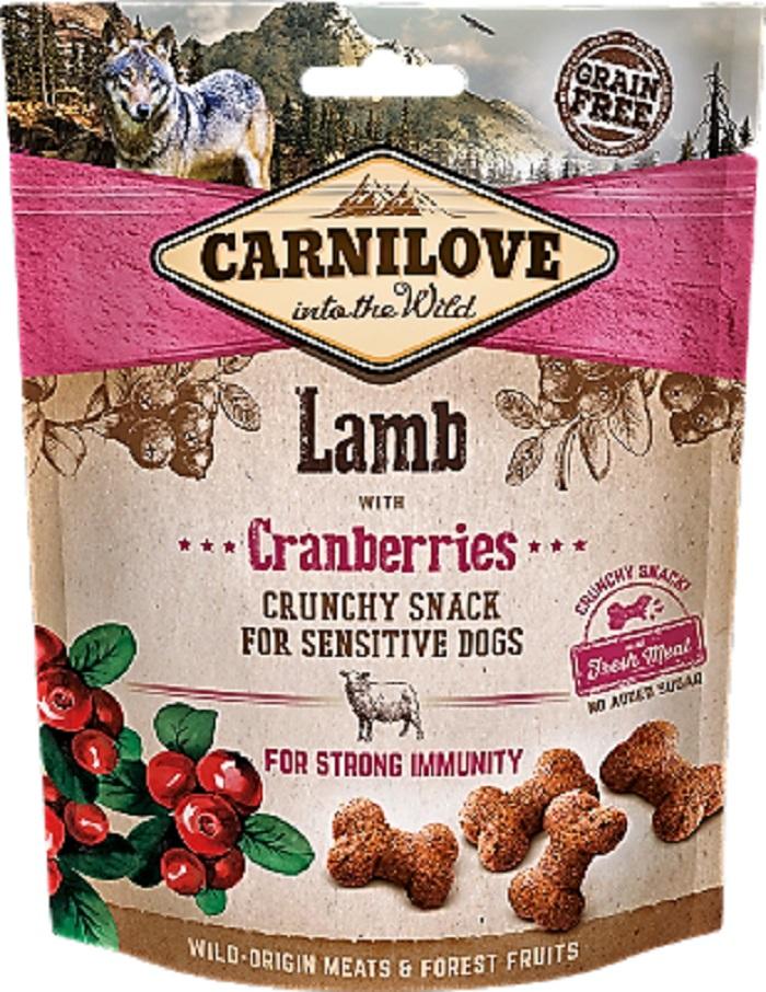 Carnilove ropogós jutalomfalat bárányhús vörösáfonya 200g
