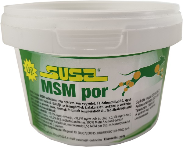 SUSA ízületvédő MSM por 250g